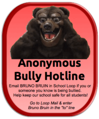Annonymouse Bully Hotline! Email Bruno Bruin!