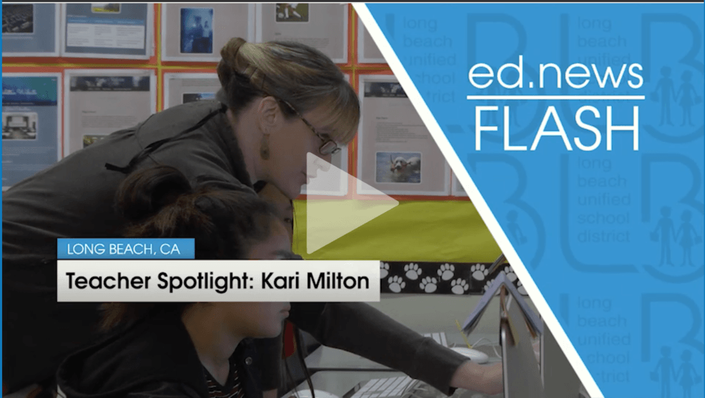 Teacher Spotlight  Kari Milton